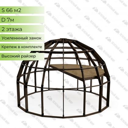 Купольный каркас - 66 кв.м. - D7H (ВЫСОКИЙ)