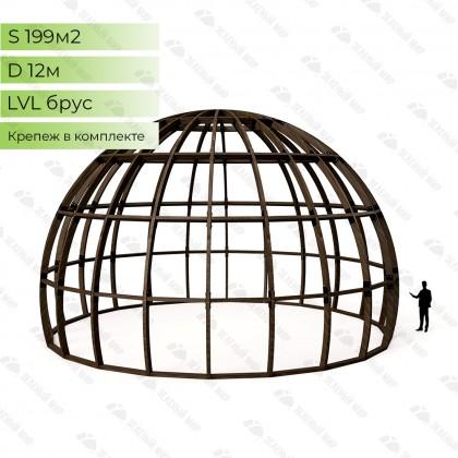 Каркас круглого дома S12 - LVL