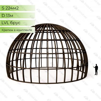 Каркас круглого дома S13 - LVL