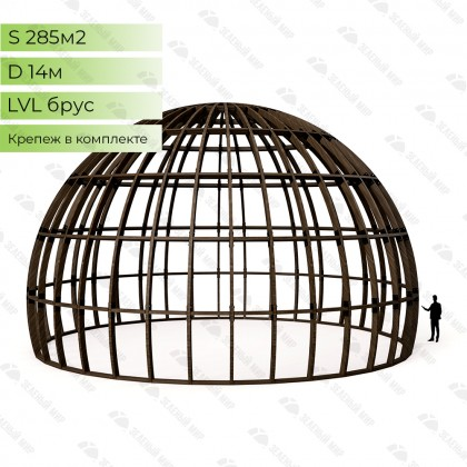 Каркас круглого дома S14 - LVL