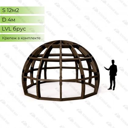 Каркас круглого дома S4 - LVL