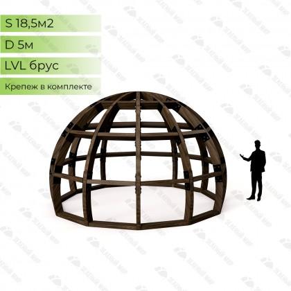 Каркас круглого дома S5 - LVL