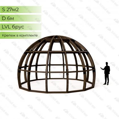 Каркас круглого дома S6 - LVL