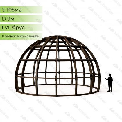 Каркас круглого дома S9 - LVL
