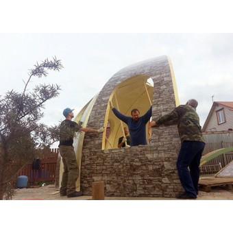 Сферические дома под ключ из пенополиуретана. Проекты и цены