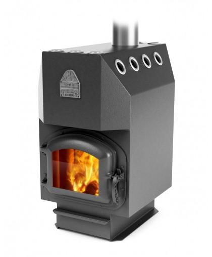 Воздухогрейная печь модификация Инженер уголь
