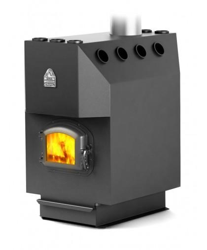 Воздухогрейная печь модификация Профессор уголь