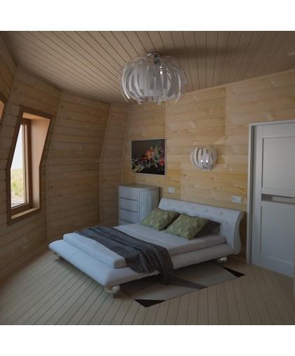 Купольный дом - 120 м²  - Z10 под черновую отделку
