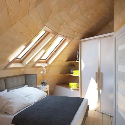 Купольный дом - 180 м² - Z12 под черновую отделку