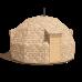 Купольный дом Z6 - 28 метров под черновую отделку