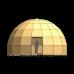 Купольный каркас Z8 - 70 метров