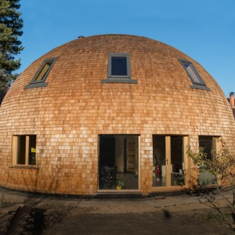 Как живется в купольном доме в Подмосковье?