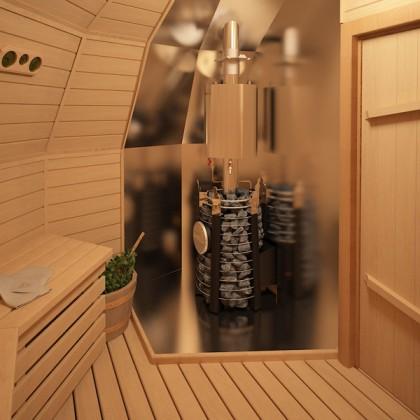 Купольный дом - 9,9 м² - Z4 под черновую отделку