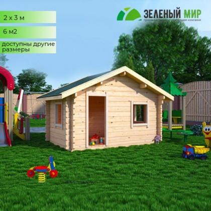 Детский домик для самостоятельной сборки.