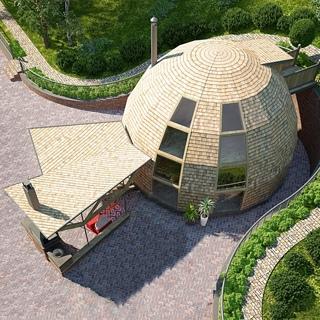 Купольный стратодезический дом под ключ