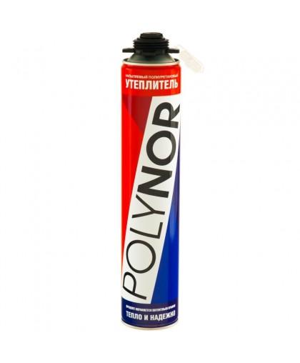 Напыляемый полиуретановый утеплитель (НПУ) POLYNOR - 890 мл