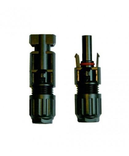 Герметичные коннекторы для фотоэлектрических систем серии SolarLine MC4