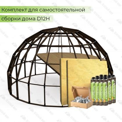 Домокомплект стратодезического каркаса - QD12H - 207 кв.м.