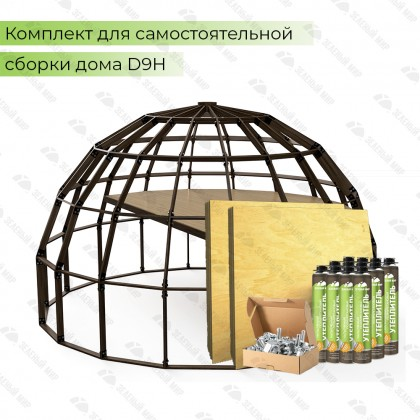 Купольный домокомплект - QD9H - 113 кв.м.