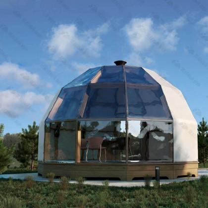 Купольный стратодезический домокомплект для глэмпинга