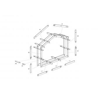 Рисунок из инструкции по сборке домокомплекта FINHA S 40.