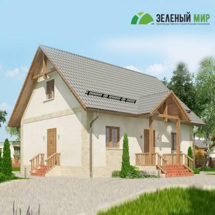 Каркасный дом Б110.20