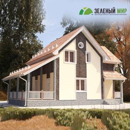 Каркасный дом Б150.30