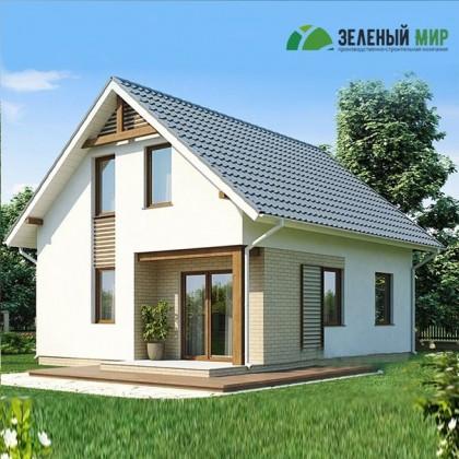 Каркасный дом Д113.38