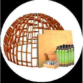 Домокомплект для купольного дома