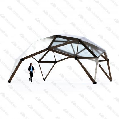Каркас квадросферы - 8 метров