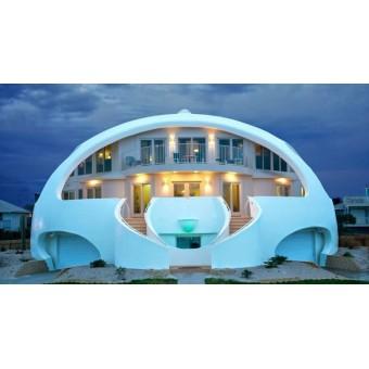 Круглый дом. Виды круглых домов. Строительство круглых домов
