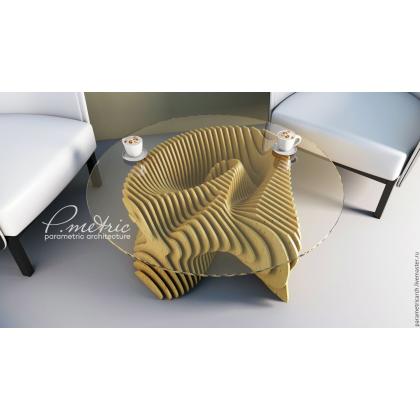 Параметрический кофейный стол