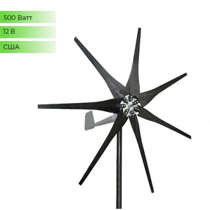 Ветрогенератор Missouri 500 Ватт  - 12В
