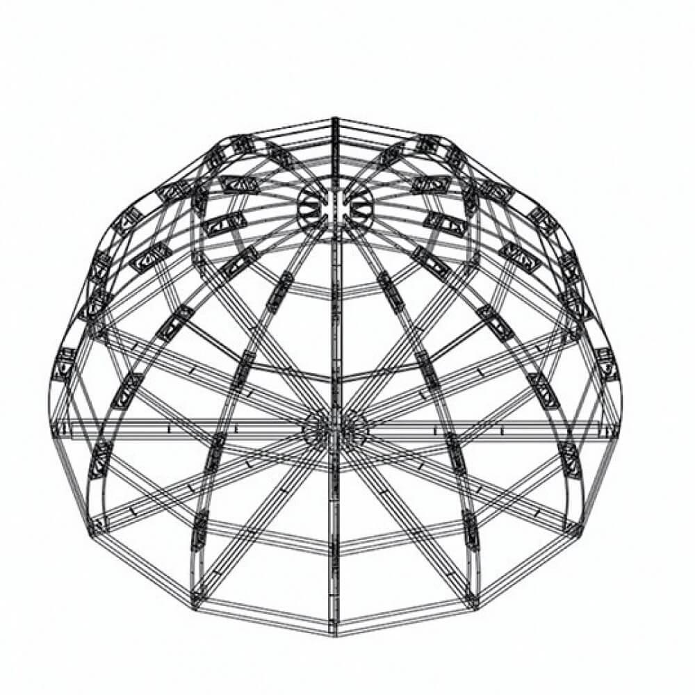Каркас правильной круглой формы в Краснодаре