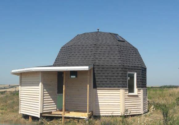Купольный дом 6 метров в ст. Варениковская