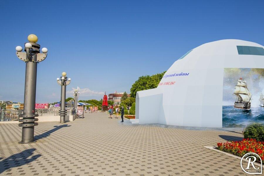 Деревянный купольный каркас для реконструкции войны