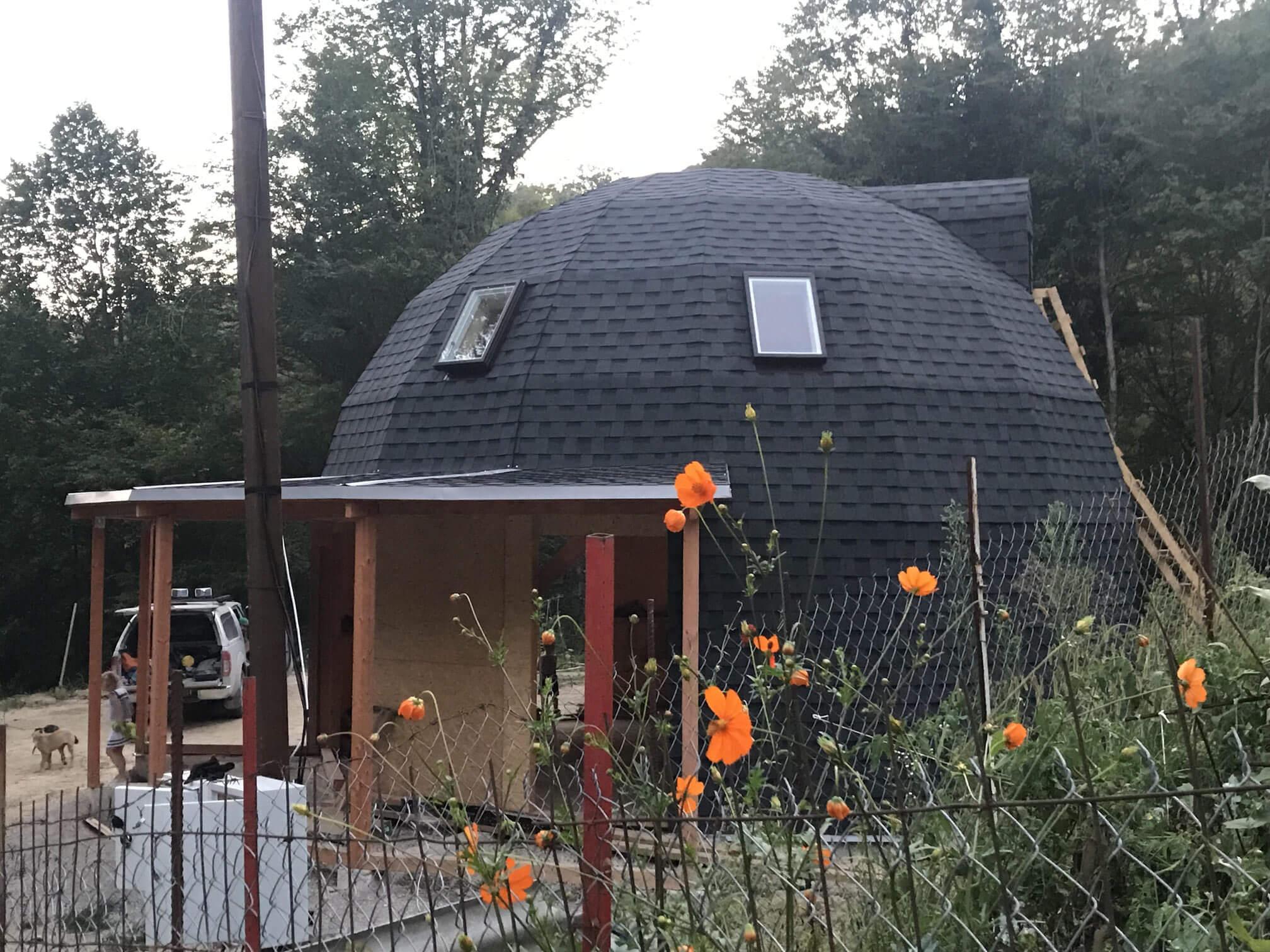 Купольный дом 8 метров в Адлере