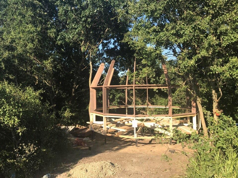 Купольный дом 6 метров в Краснодарском крае