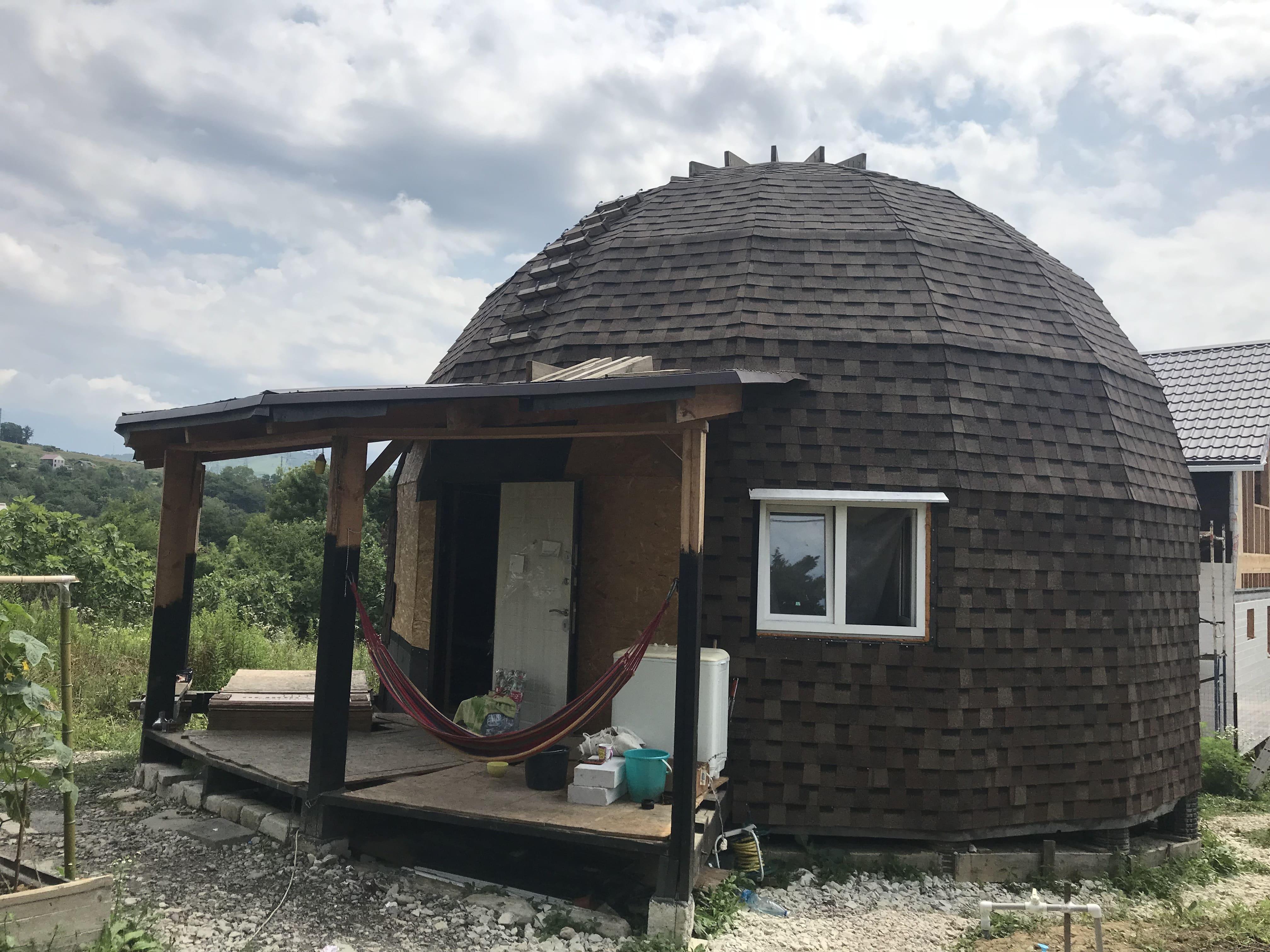 Поставка купольного каркаса 8 метров в Сочи