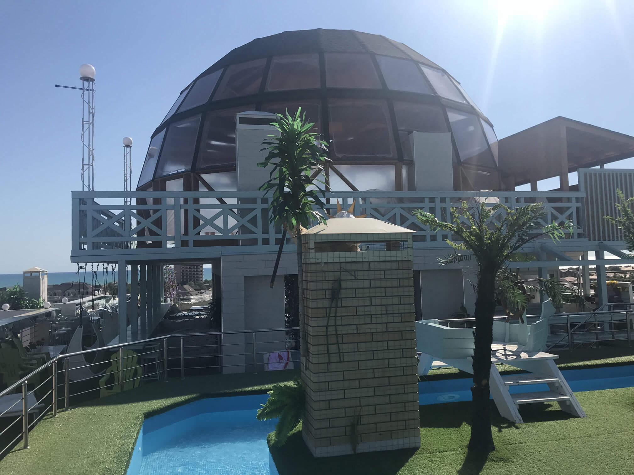 Купольный ресторан 12 метров в Анапе