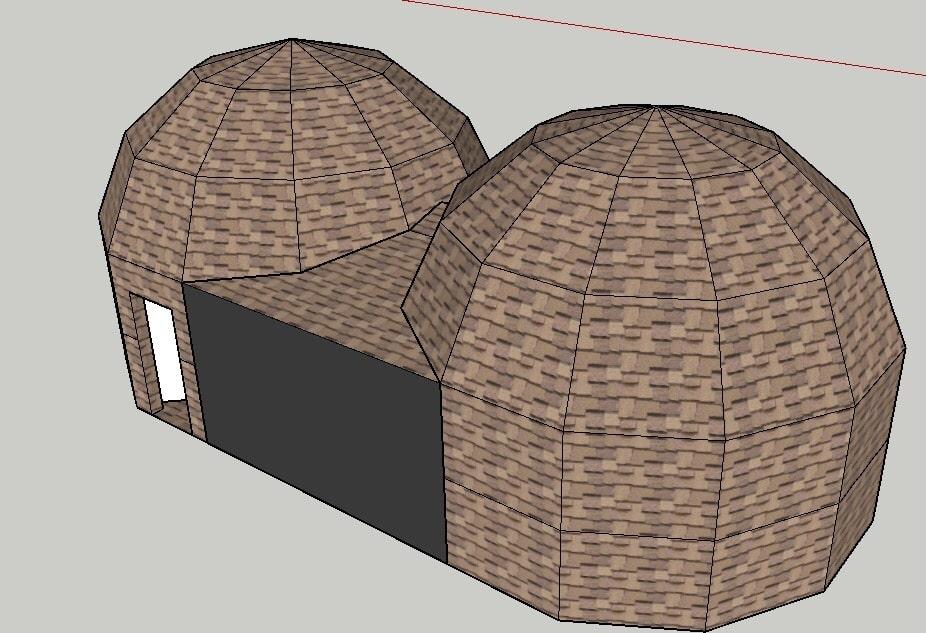 Купольный детокс-центр: 2 купола по 6 метров в Сочи