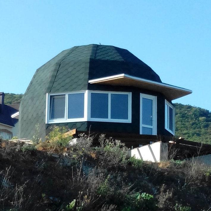 Купольный дом 6 метров в Сукко