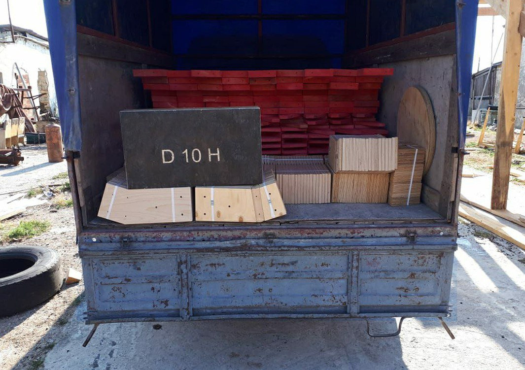 Купольный каркас D10H на 10 метров для самостоятельной сборки в Тамань